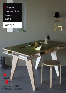 Insekt desk winner!